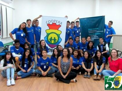 Capacitação em Cooperativa Mirim na Guarda Mirim de Londrina